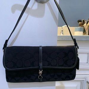 Black classic coach bag